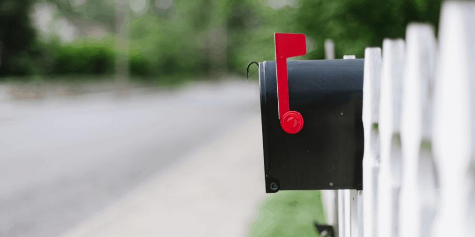 sending the mailbox