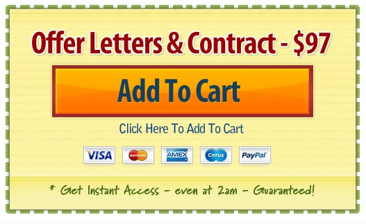 offer letters and contract template coupon