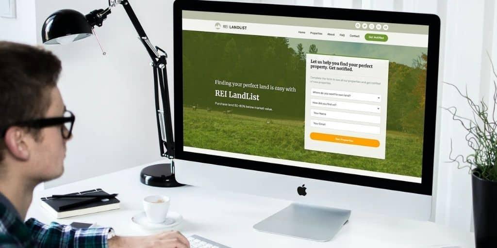 rei conversion squeeze page desktop