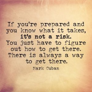 Mark Cuban how to get there