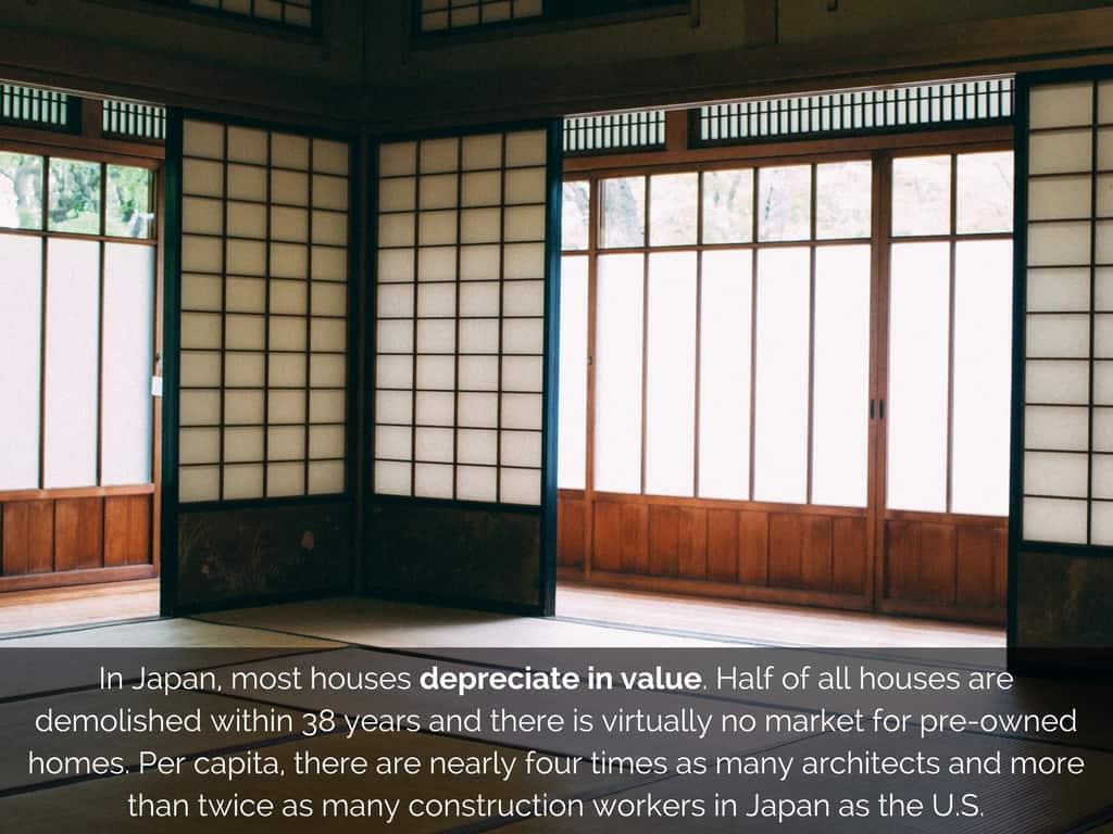 japan homes depreciation