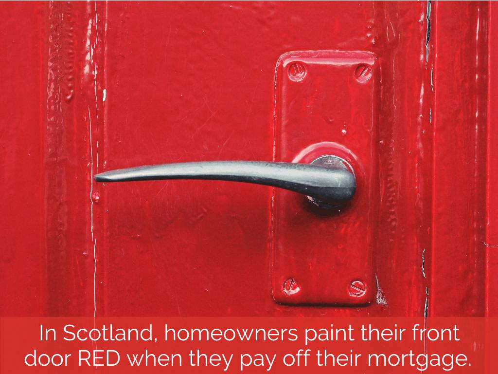 scotland red door mortgage