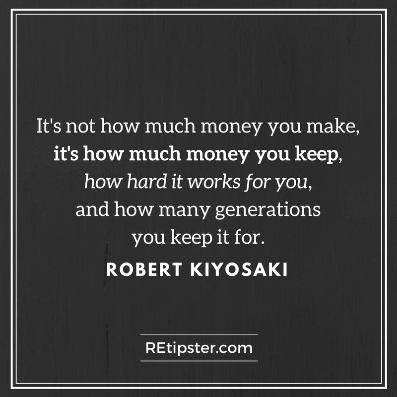 Robert Kiyosaki money