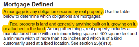 Mortgage Defined