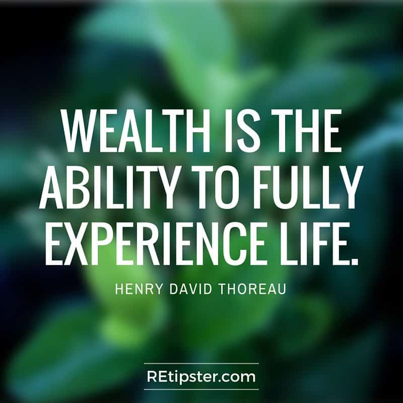 self-employment wealth quote