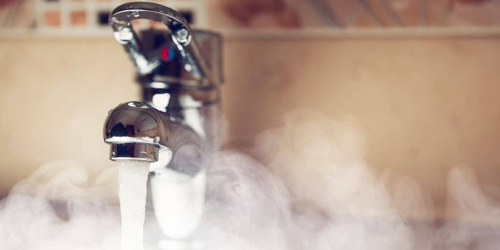 hot water usage