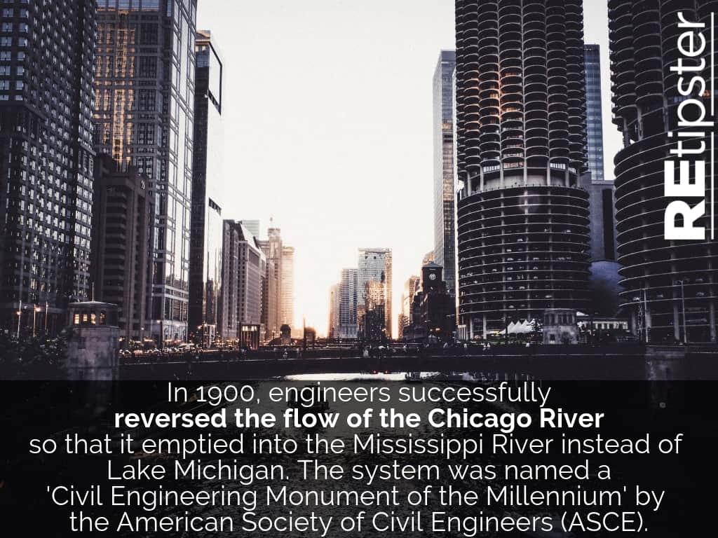 Chicago River Flows Backward