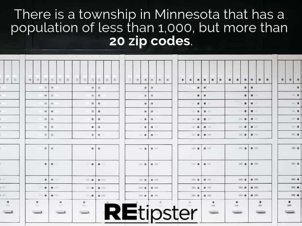 Minnesota 20 zip codes