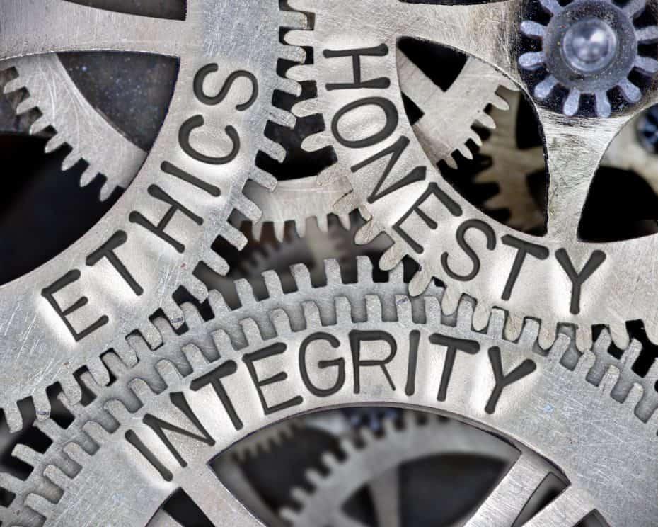 ethics honesty integrity