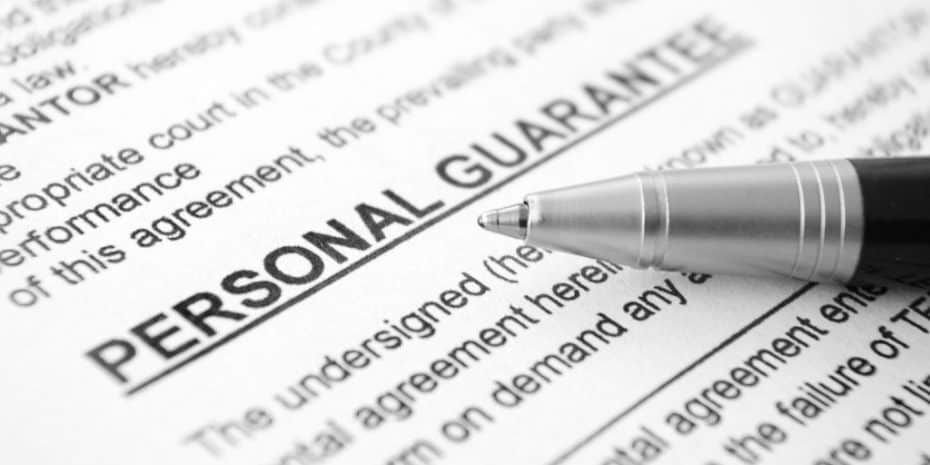 personal guarantee
