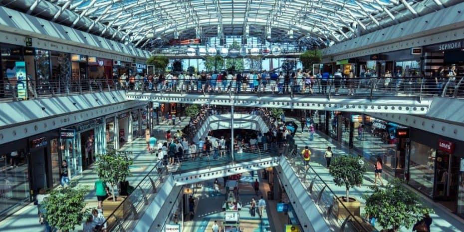suburban mall
