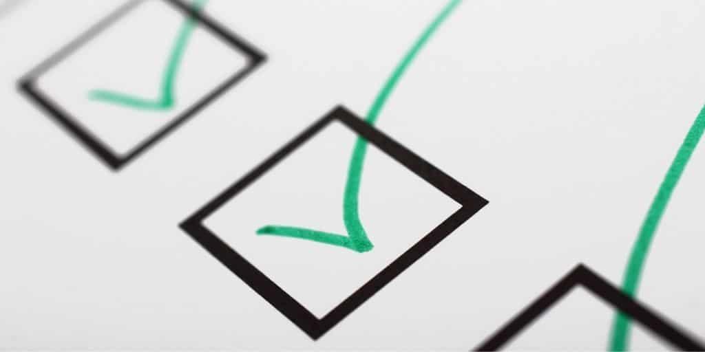 entitlement checklist