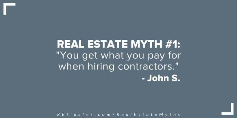 Real Estate Myth 1