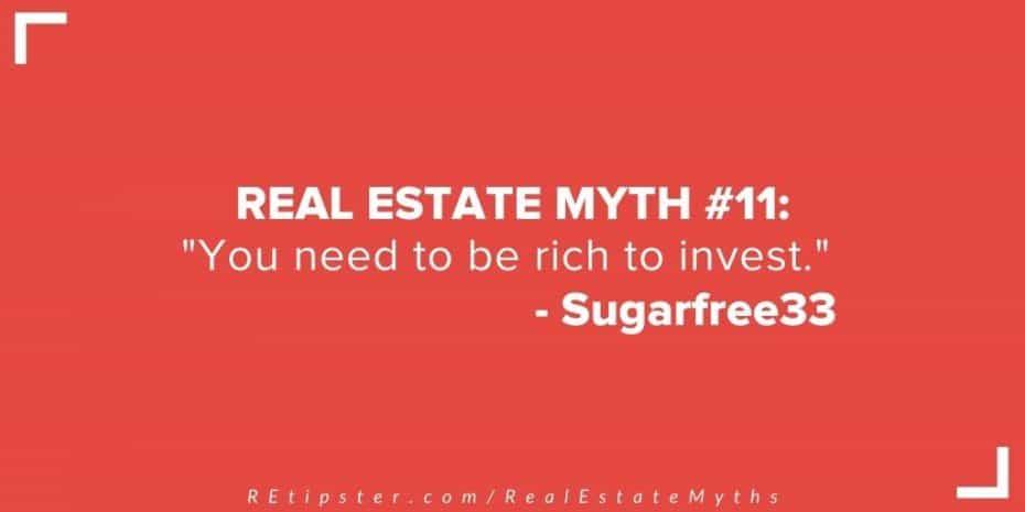 Real Estate Myth 11