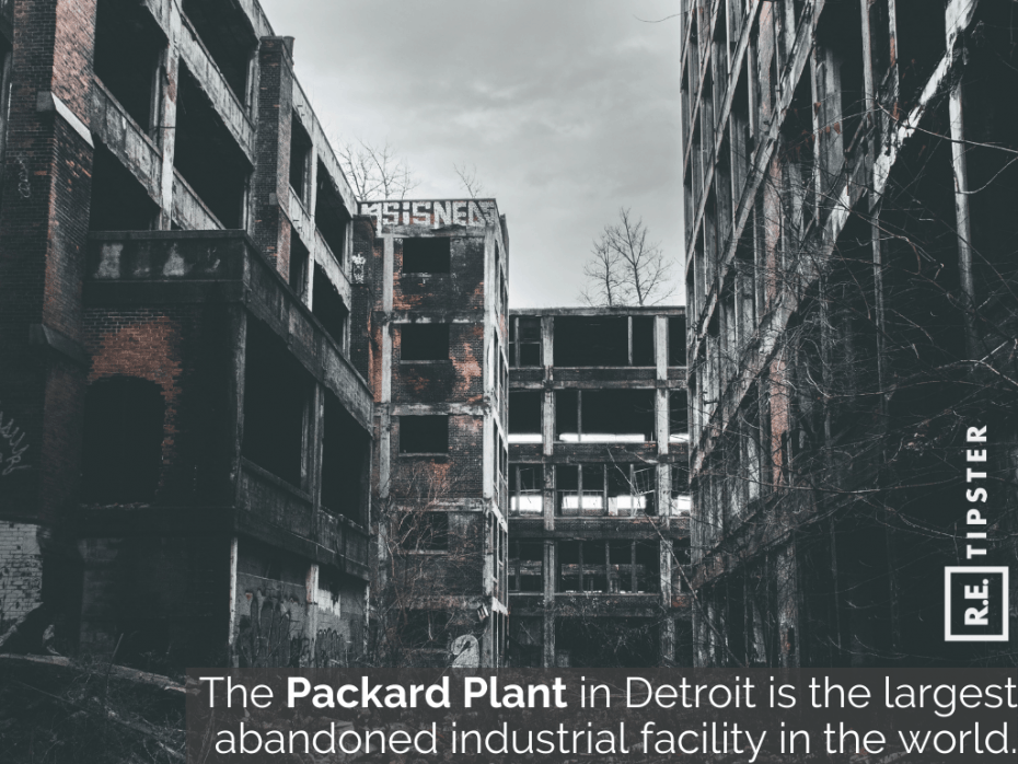 packard plant detroit largest abandoned industrial facility world