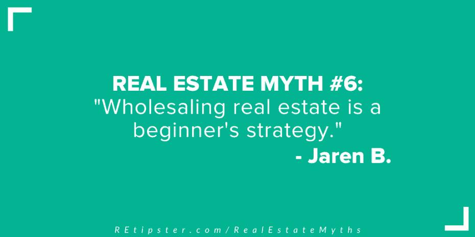 real estate myth 6