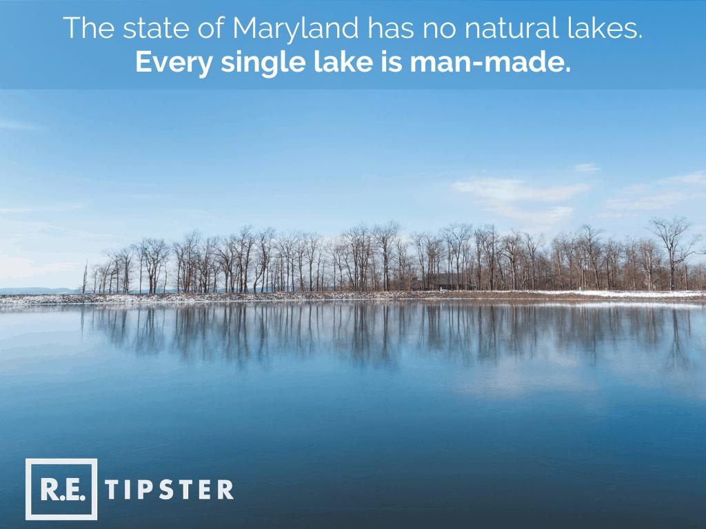Maryland Man Made Lakes