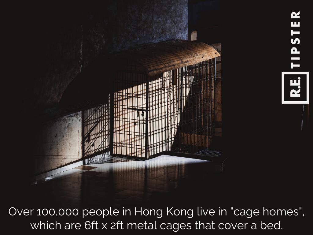 hong kong cage homes