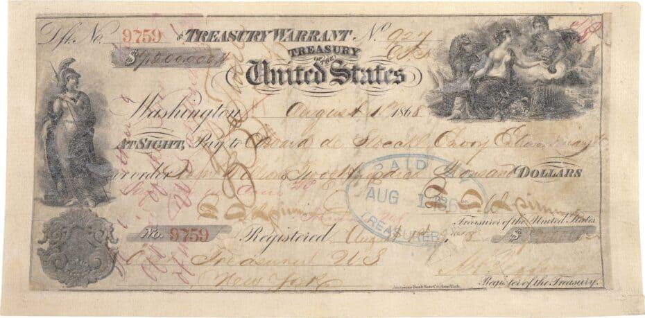 Alaska Purchase check