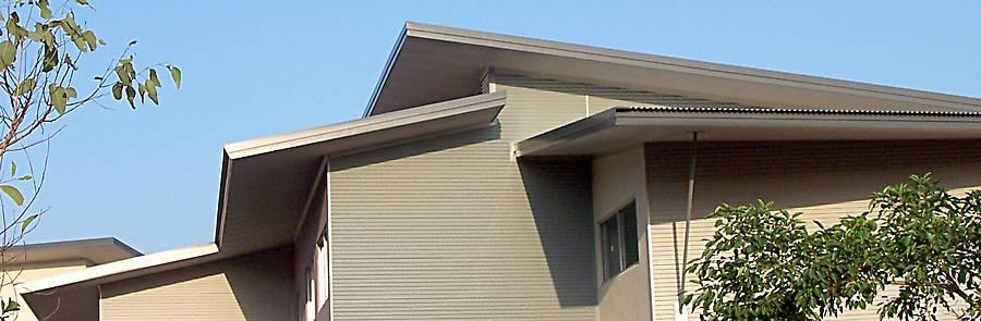 Skillion Roof Example