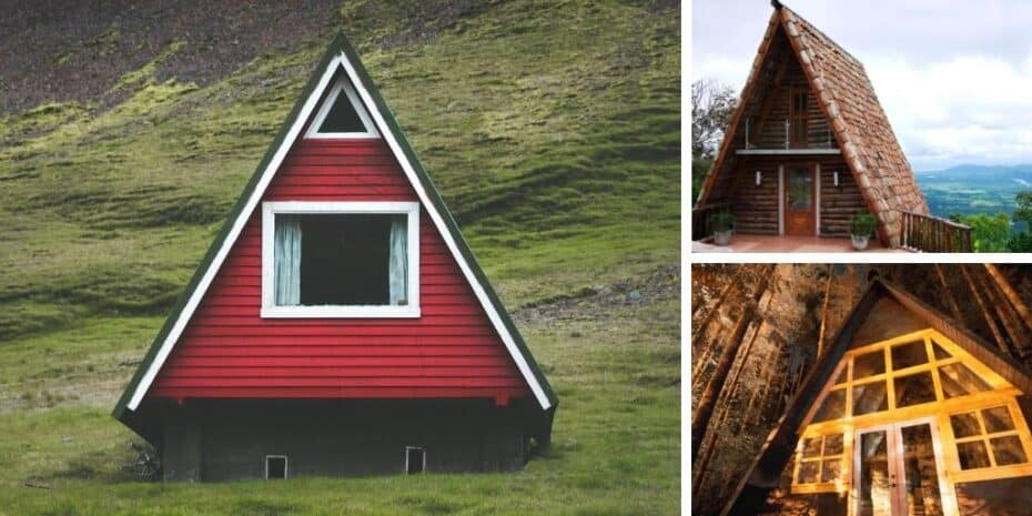 a-frame roof examples