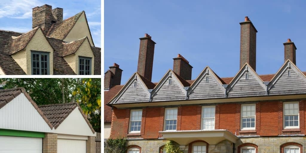 box gable roof examples
