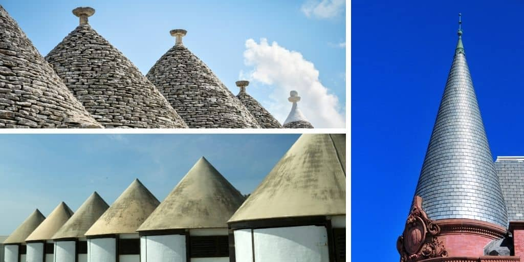 conical roof examples