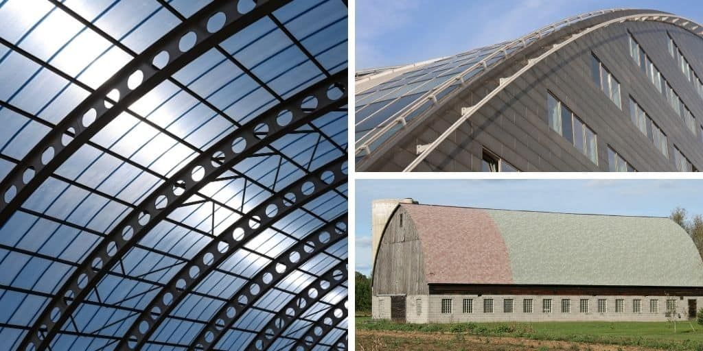 curved roof examples