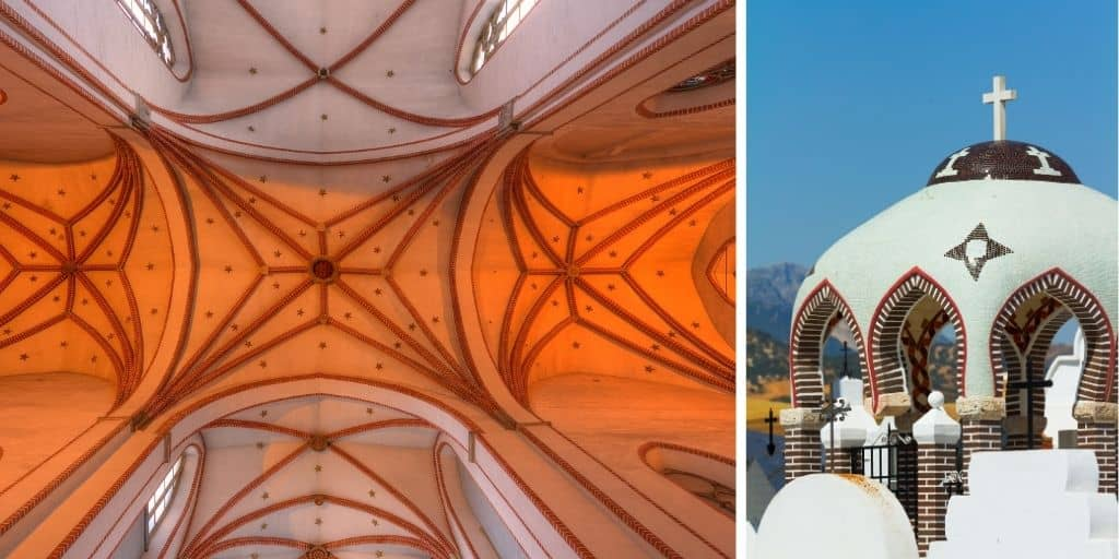 domed vault roof examples