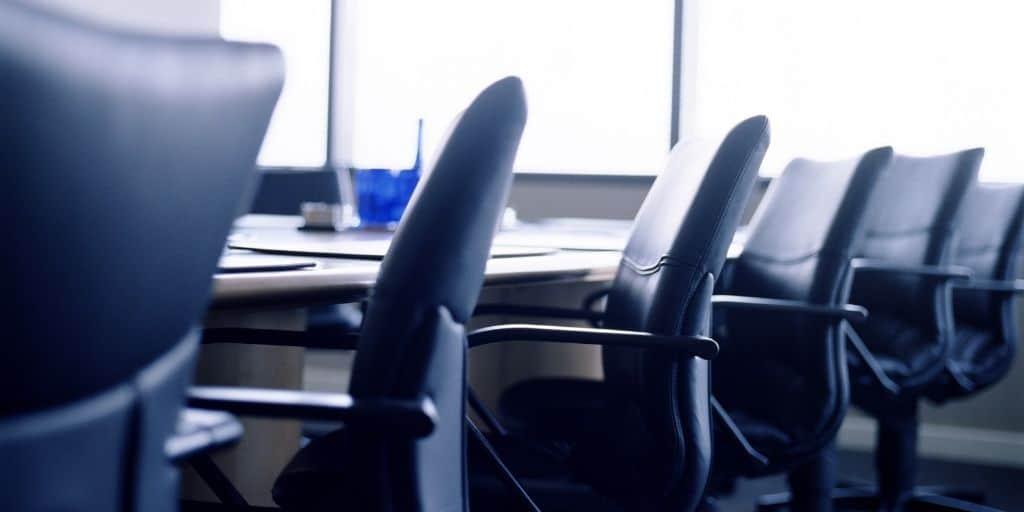 escrow office closing table