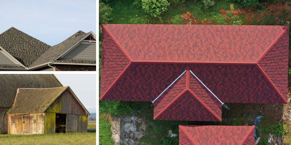 hip and valley roof examples