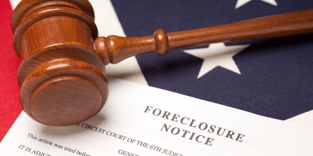 judicial non-judicial foreclosure states list map