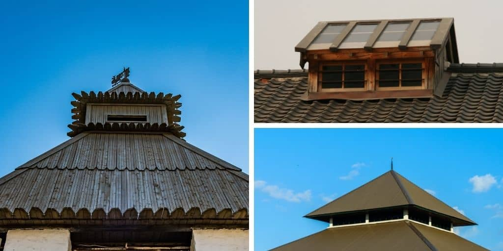 monitor roof examples