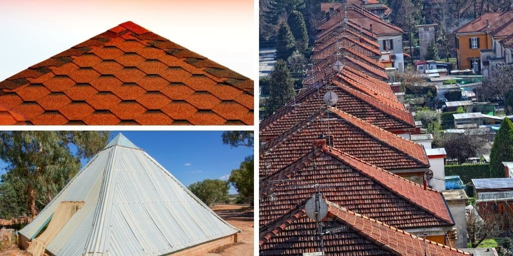 pyramid roof examples