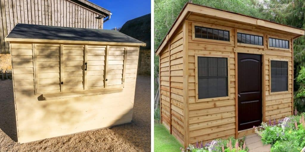 shed roof examples
