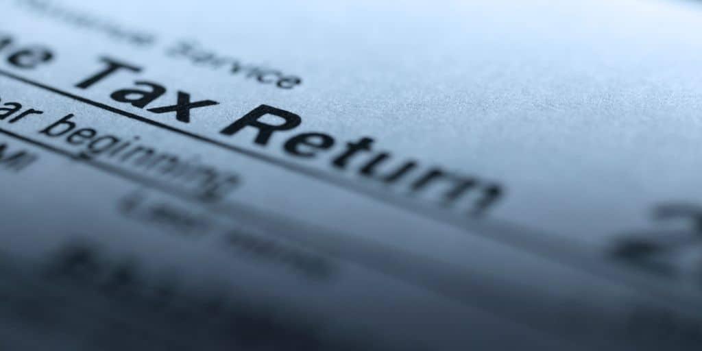 tax return installment sale