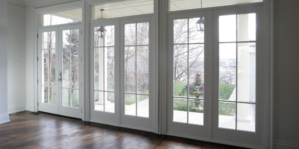 french doors example