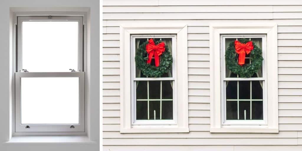 single hung window example