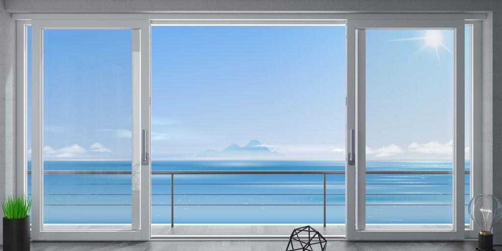 triple slider window example
