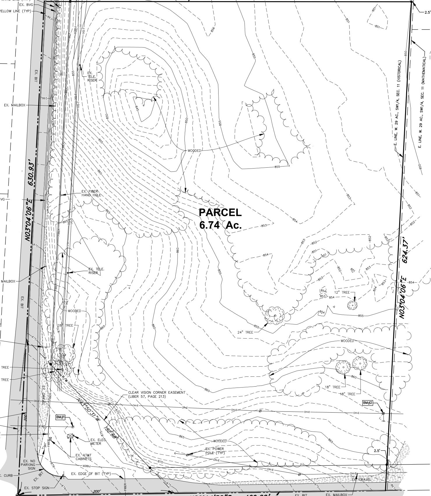 topo survey example