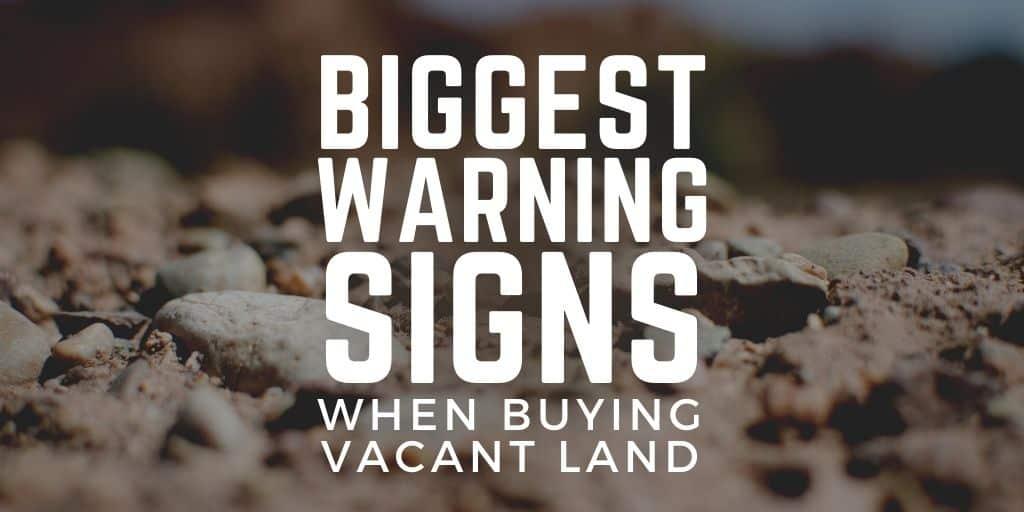 warning signs land