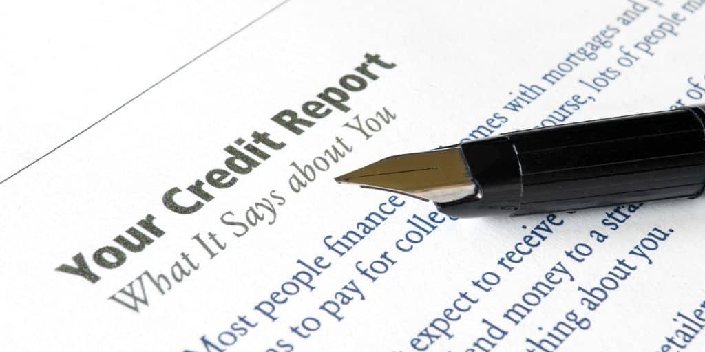 creditworthiness credit report