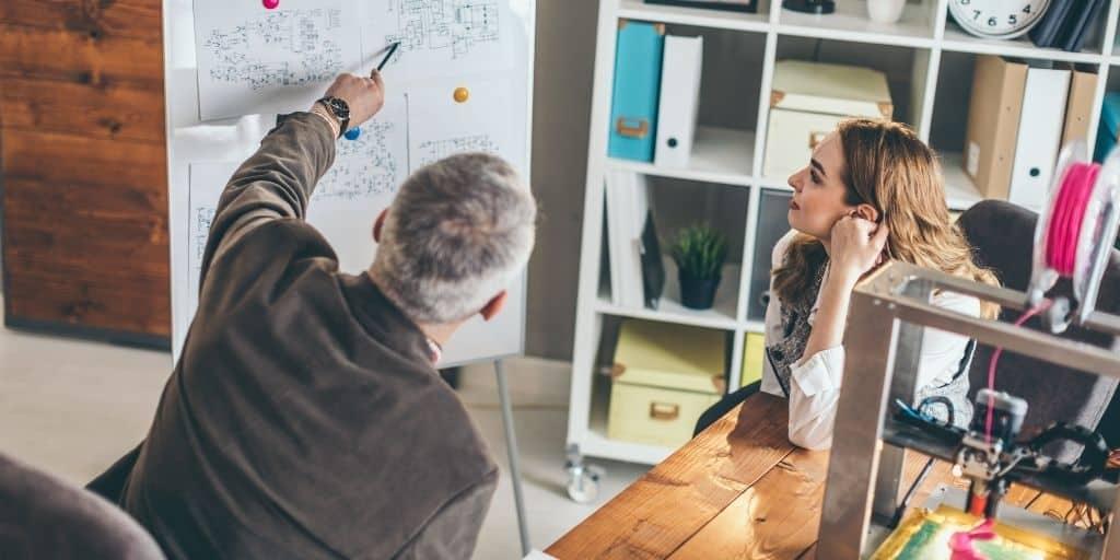 real estate mentor whiteboard